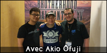Interview de Akio Ofuji