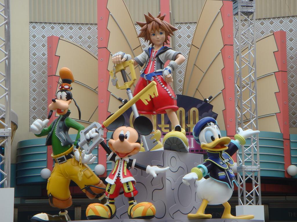 [Tokyo Disney Resort] Une statue Kingdom Hearts à Ikspiari Kh3