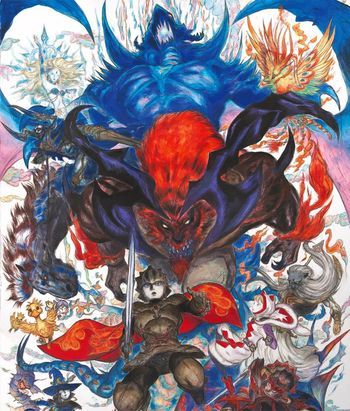 Artwork Final Fantasy Explorers
