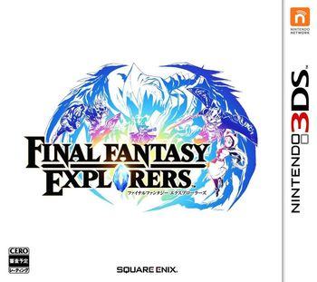 Jaquette Final Fantasy Explorers