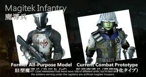Final Fantasy XV - Soldats