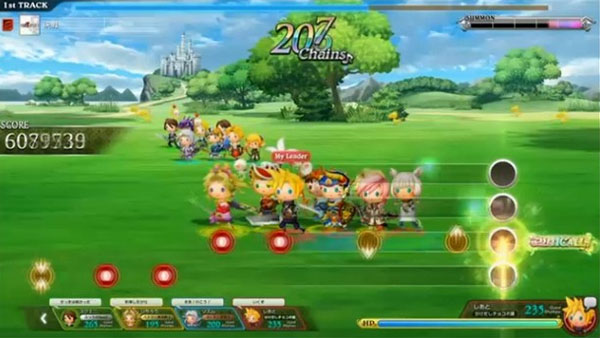 Theatrhythm Arcade Final Fantasy