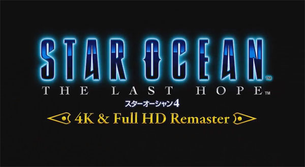 Star Ocean 4 The Last Hope 4K HD Remaster