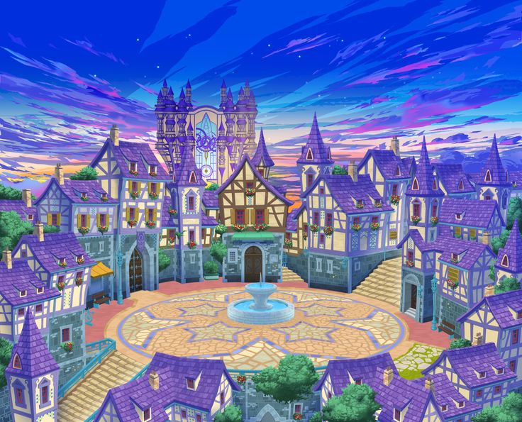 Kingdom Hearts Chi - Daybreak Town