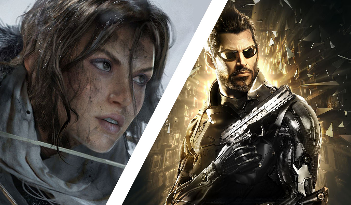 Deus Ex Mankind Divided - Rise of the Tomb Raider