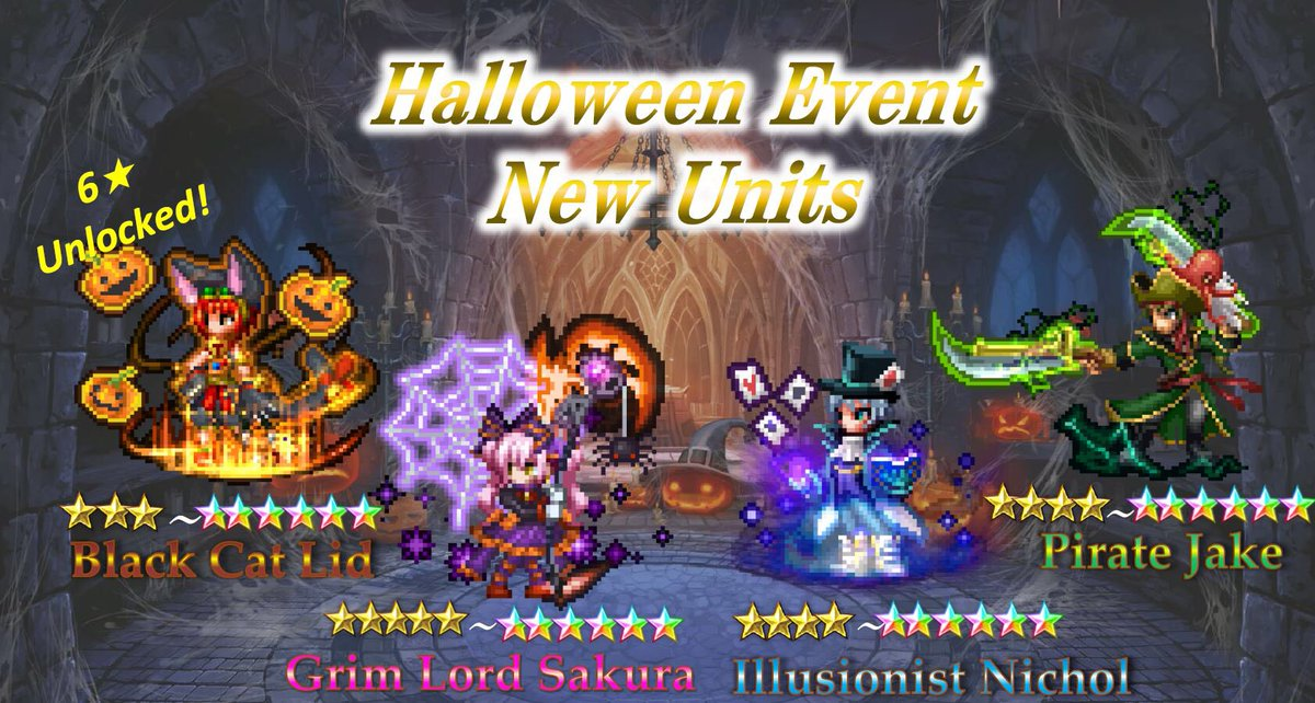 Final Fantasy Brave Exvius - Halloween