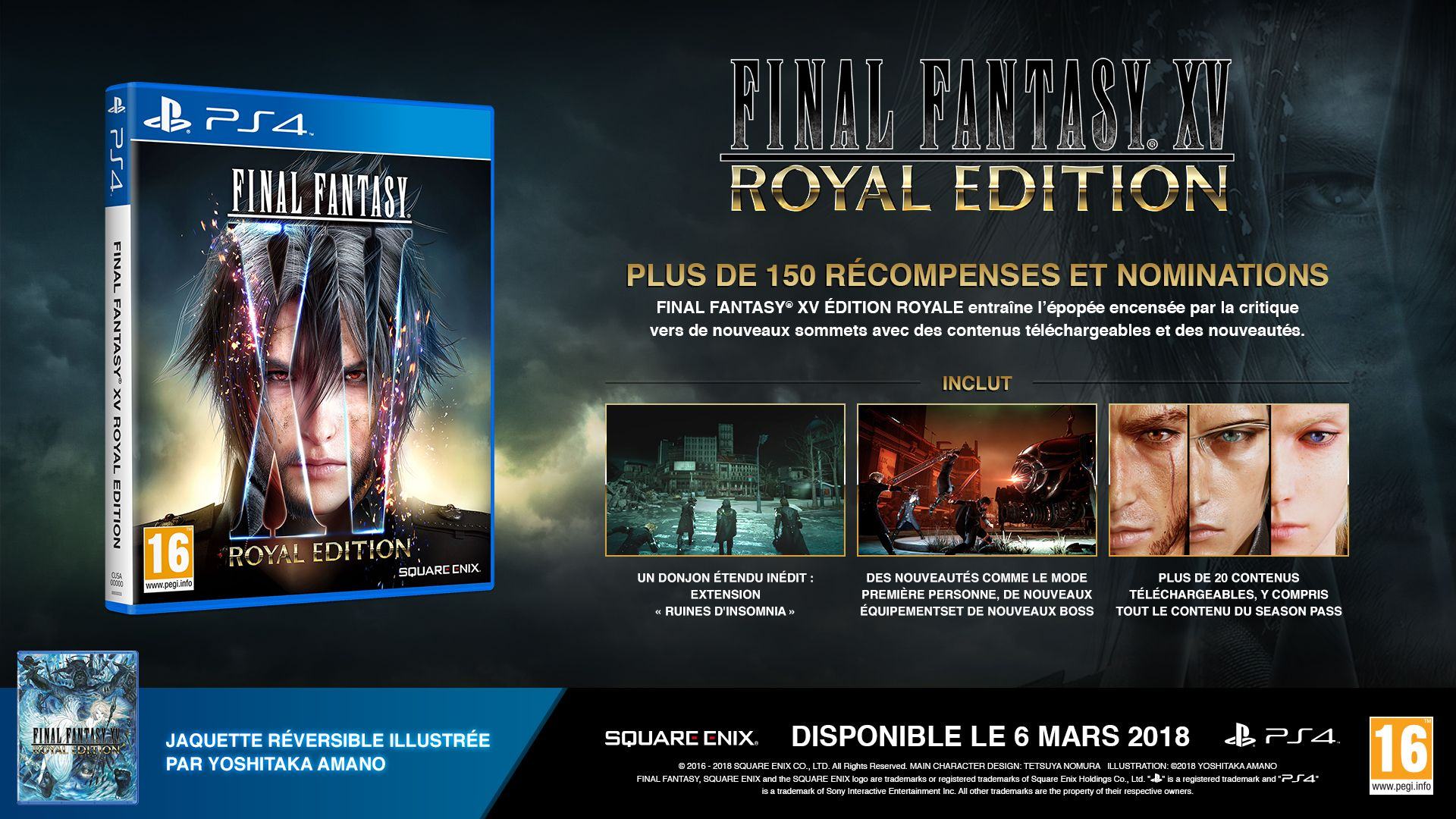 Final Fantasy XV fait une Quinte Flush Royale
